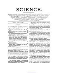 Science ; Volume 1 : No 25 : Jun 21 : 18... by