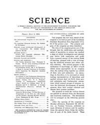 Science ; Volume 20 : No 497 : Jul 8 : 1... by