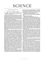 Science ; Volume 20 : No 507 Oct 1892 by