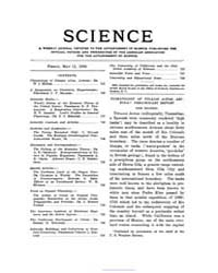Science ; Volume 23 : No 593 : May 11 : ... by