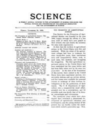 Science ; Volume 24 : No 622 : Nov 30 : ... by