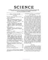 Science ; Volume 26 : No 668 : Oct 18 : ... by