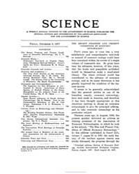 Science ; Volume 26 : No 675 : Dec 6 : 1... by