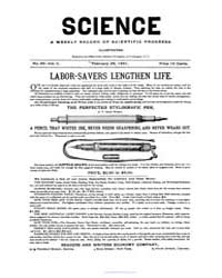 Science ; Volume 2 : No 35 : Feb 1881 by