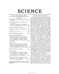 Science ; Volume 30 : No 769 : Sep 24 : ... by