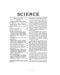 Science ; Volume 33 : No 857 : Jun 2 : 1... by