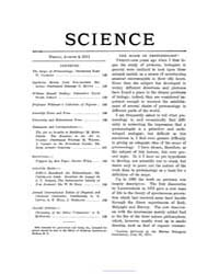 Science ; Volume 34 : No 866 : Aug 4 : 1... by
