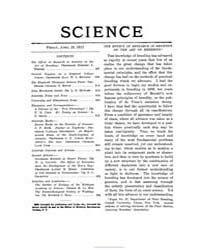 Science ; Volume 35 : No 903 : Apr 19 : ... by