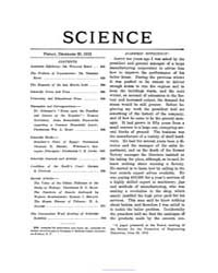 Science ; Volume 36 : No 938 : Dec 20 : ... by