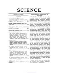 Science ; Volume 37 : No 958 : May 9 : 1... by