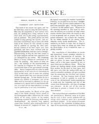 Science ; Volume 3 : No 59 : Mar 21 : 18... by
