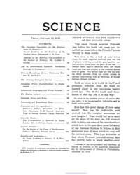 Science ; Volume 41 : No 1046 : Jan 15 :... by