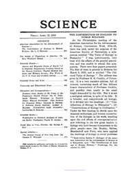 Science ; Volume 47 : No 1215 : Apr 1918 by