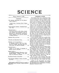 Science ; Volume 49 : No 1258 : Feb 1919 by