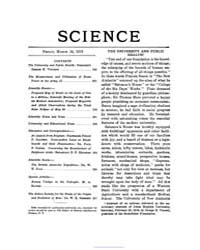 Science ; Volume 49 : No 1263 Mar 14 : 1... by