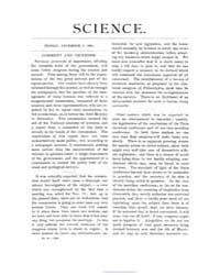 Science ; Volume 4 : No 96 : Dec 5 : 188... by