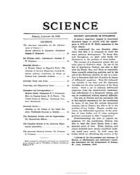 Science ; Volume 51 : No 1307 Jan 16 : 1... by