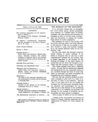 Science ; Volume 51 : No 1309 Jan 30 : 1... by