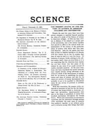 Science ; Volume 54 : No 1407 : Dec 16 :... by