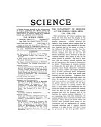 Science ; Volume 56 : No 1447 : Sep 22 :... by