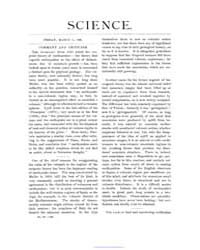 Science ; Volume 5 : No 109 : Mar 6 : 18... by