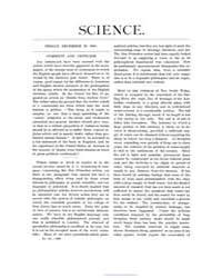 Science ; Volume 6 : No 151 : Dec 25 : 1... by