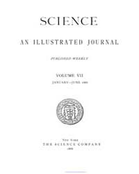 Science ; Volume 7 : No 152 : Jan 1 : 18... by
