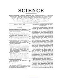 Science ; Volume 9 : No 232 : Jun 9 : 18... by