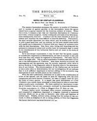 The Bryologist : 1903 ; Mar. No. 2 Vol. ... Volume Vol. 6 by Goffinet, Bernard