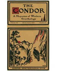 The Condor : 1907 ; Mar.-apr. No. 2 Vol.... Volume Vol. 9 by Patten, Michael