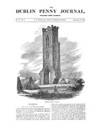 The Dublin Penny Journal : 1832 ; Nov 17... Volume Vol. 1 by Heyden, E.