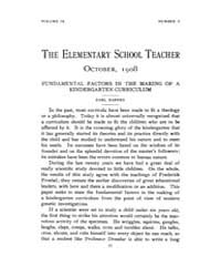 The Elementary School Teacher : 1908 Oct... Volume Vol.9 by Gersten,russell