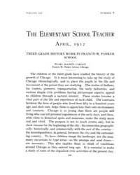 The Elementary School Teacher : 1912 Apr... Volume Vol.12 by Gersten,russell