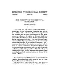 The Harvard Theological Review : 1919 Ju... Volume Vol.12 by