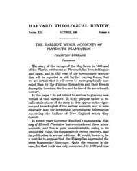 The Harvard Theological Review : 1920 Oc... Volume Vol.13 by