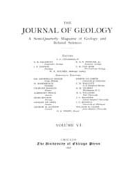 The Journal of Geology : 1898 Jan Feb No... Volume Vol.8 by Wright,charles