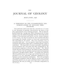 The Journal of Geology : 1898 May Jun No... Volume Vol.8 by Wright,charles