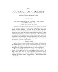 The Journal of Geology : 1899 Feb Mar No... Volume Vol.10 by Wright,charles