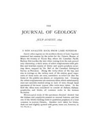 The Journal of Geology : 1899 Jul Aug No... Volume Vol.10 by Wright,charles