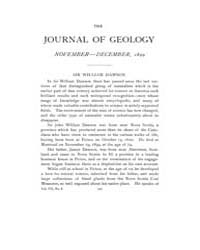 The Journal of Geology : 1899 Nov Dec No... Volume Vol.11 by Wright,charles