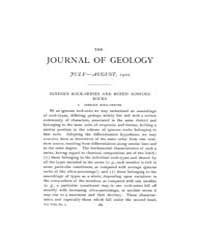 The Journal of Geology : 1900 Jul Aug No... Volume Vol.12 by Wright,charles