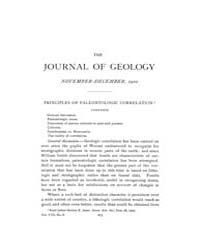 The Journal of Geology : 1900 Nov Dec No... Volume Vol.13 by Wright,charles