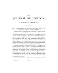 The Journal of Geology : 1900 Oct Nov No... Volume Vol.13 by Wright,charles