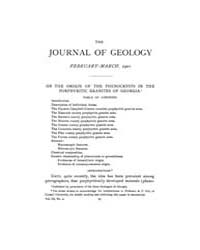 The Journal of Geology : 1901 Feb Mar No... Volume Vol.14 by Wright,charles