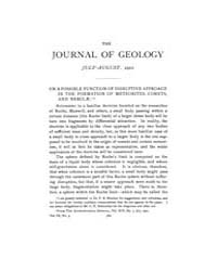The Journal of Geology : 1901 Jul Aug No... Volume Vol.14 by Wright,charles