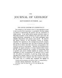The Journal of Geology : 1901 Sep Oct No... Volume Vol.15 by Wright,charles
