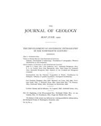 The Journal of Geology : 1902 May Jun No... Volume Vol.16 by Wright,charles