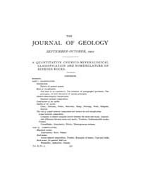 The Journal of Geology : 1902 Sep Oct No... Volume Vol.17 by Wright,charles