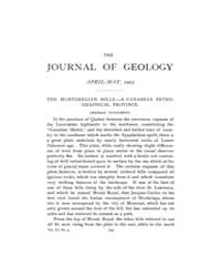 The Journal of Geology : 1903 Apr May No... Volume Vol.17 by Wright,charles