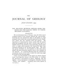 The Journal of Geology : 1903 Jul Aug No... Volume Vol.18 by Wright,charles